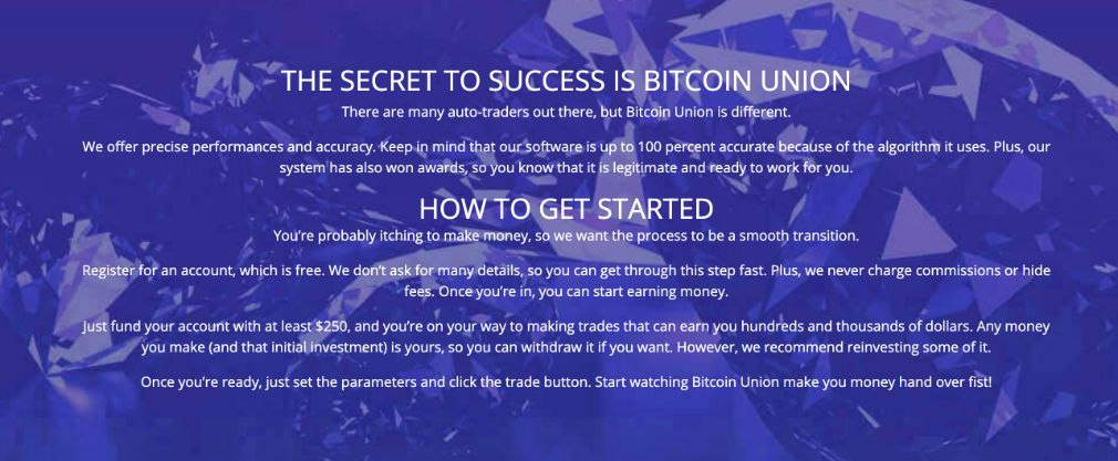 Bitcoin Union how to get started